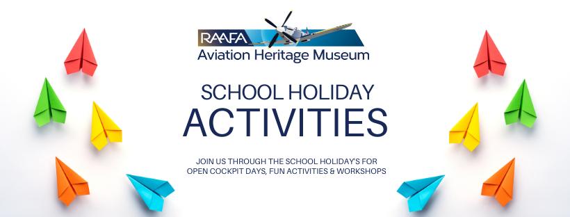 Aviation Heritage Museum School holiday fun