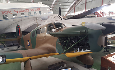 Aviation Heritage Museum aircraft collection