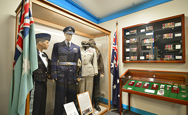 Commemoration displays