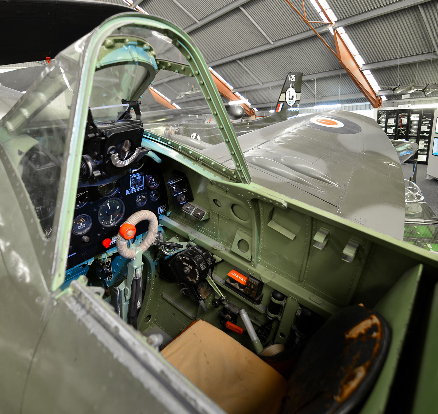 Supermarine Spitfire Cockpit Experience